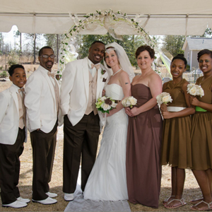 Wedding-party-beach-wedding-reception