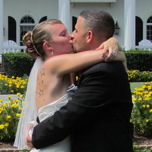 bride-kisses-groom